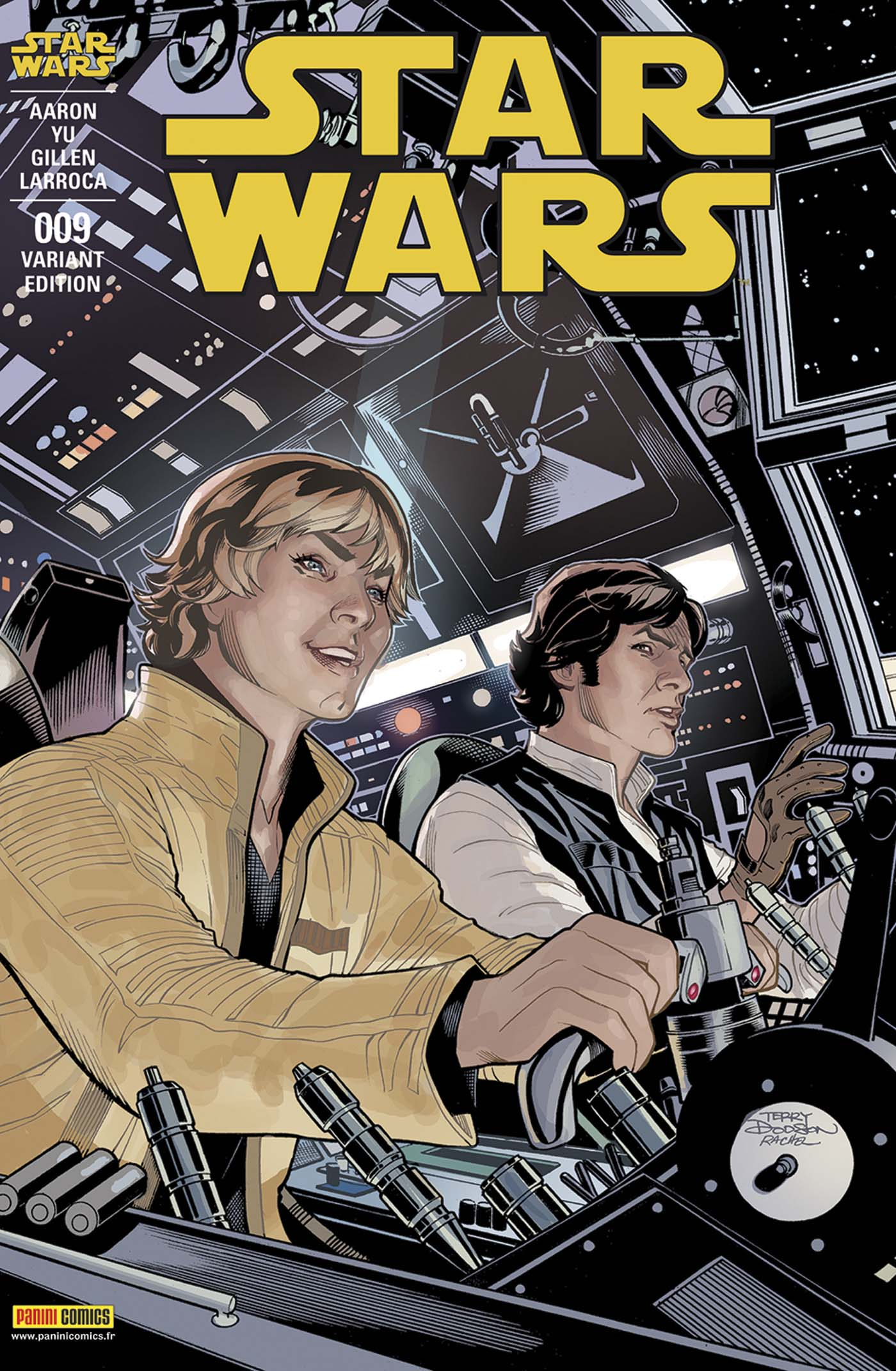 Star Wars 9 - Couverture 1/2 (Terry Dodson – tirage 50%)