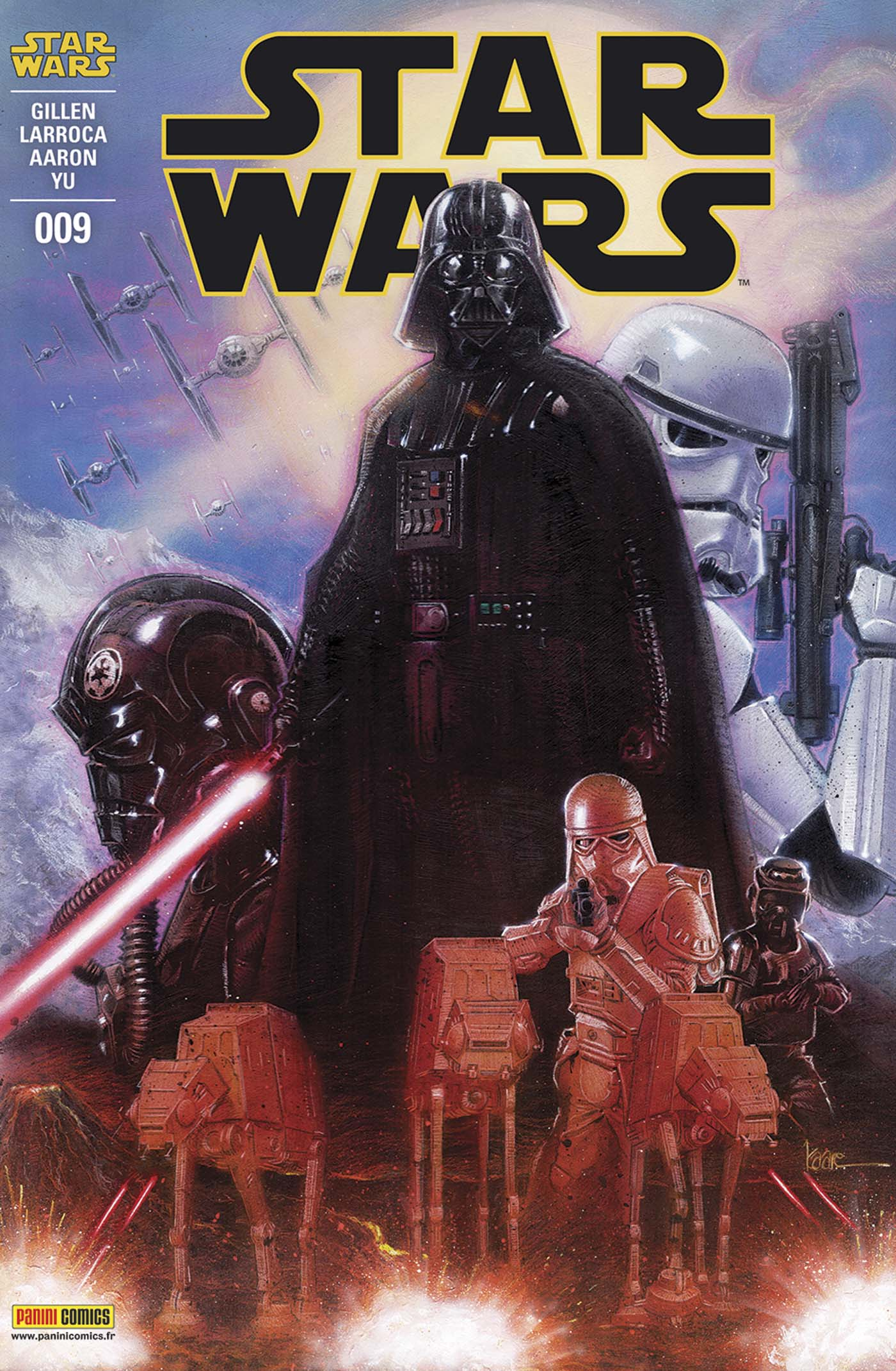 Star Wars 9 - Couverture 2/2 (Kaare Andrews – tirage 50%)