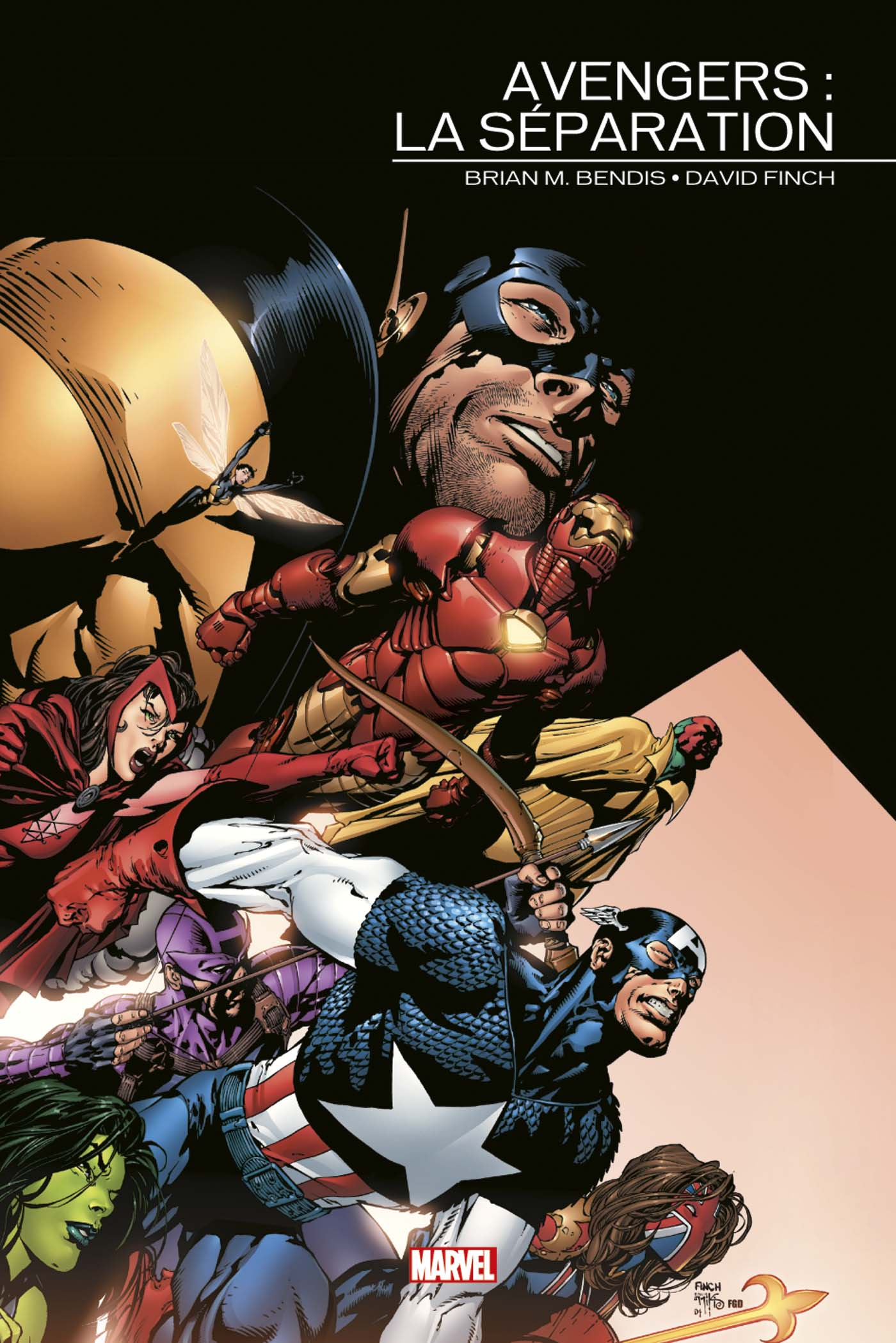 Marvel Events - Avengers - La séparation 1