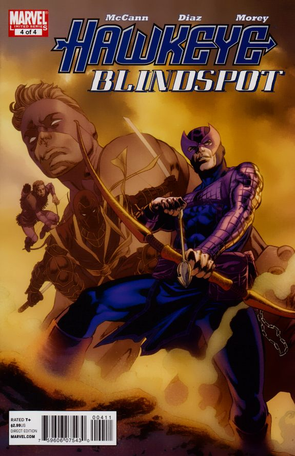 Hawkeye - Blindspot 4 - Hard Target