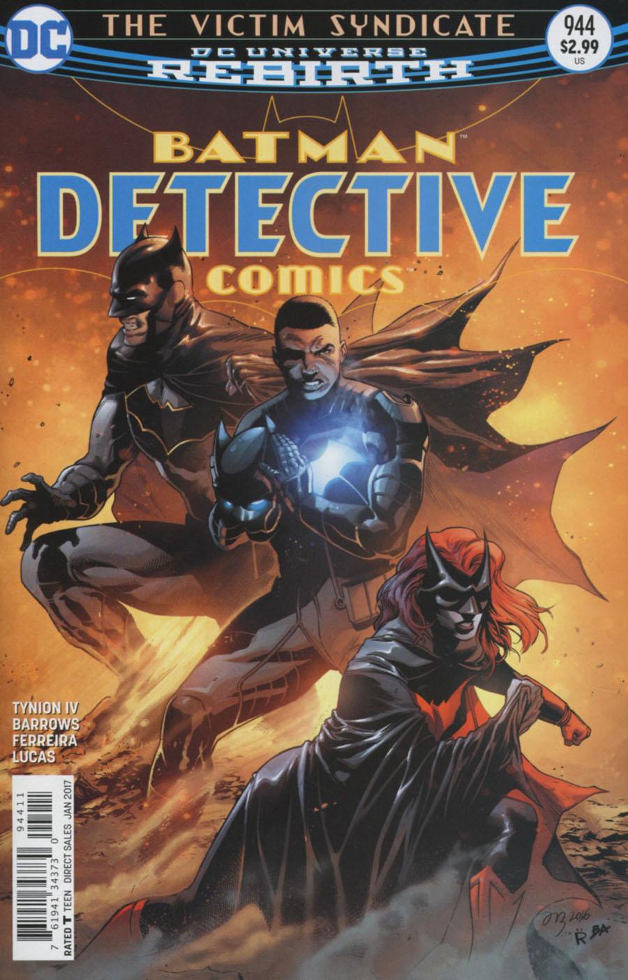 Batman - Detective Comics 944 - The Victim Syndicate - part two