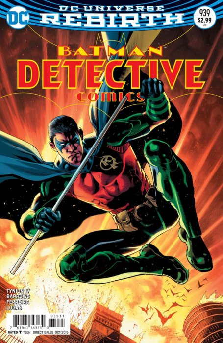 Batman - Detective Comics 939 - Rise of the Batmen Part Six: The Thin Red Line