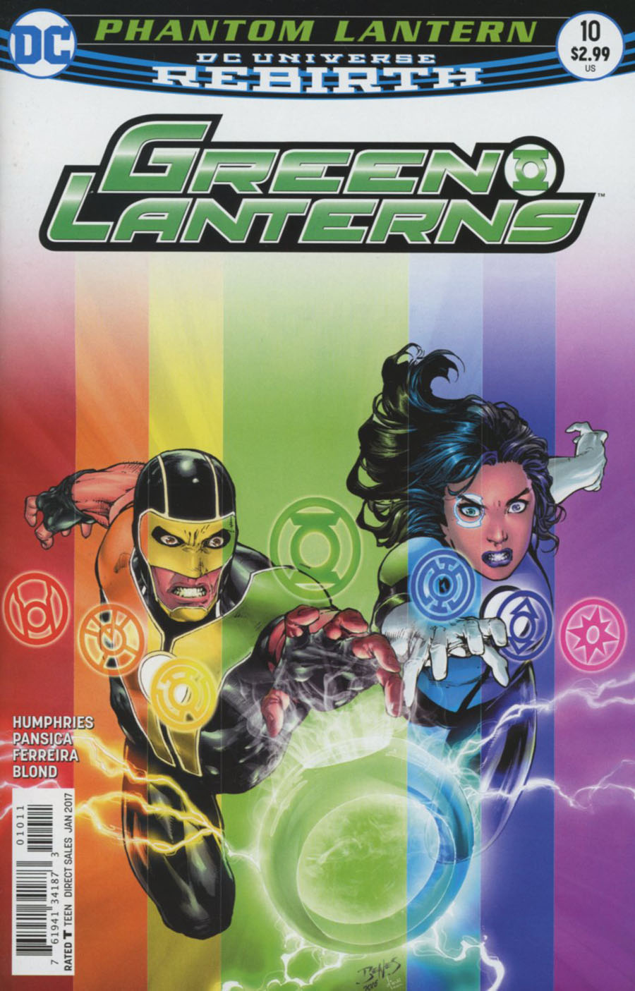 Green Lanterns 10 - The Phantom Ring - Part 2