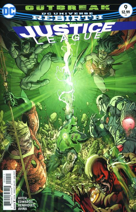 Justice League 9 - Outbreak 2