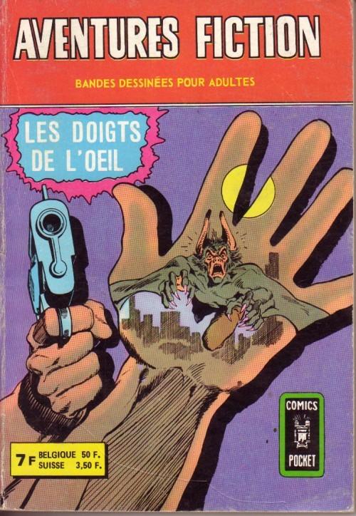Aventures Fiction 18 - Les doigts de l'oeil