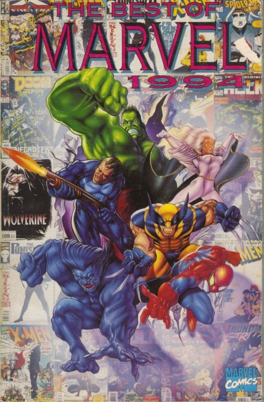 The Best of Marvel 1994 1 - The Best of Marvel 1994