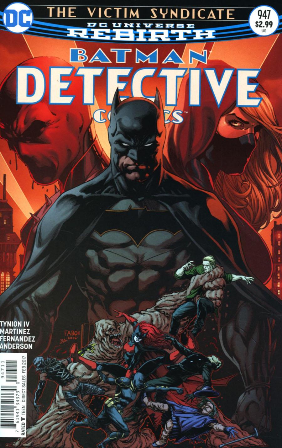 Batman - Detective Comics 947 - The Victim Syndicate - Conclusion