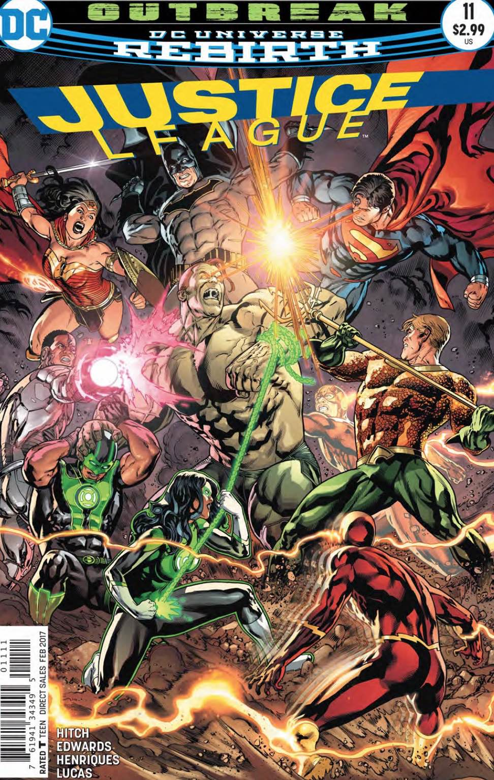 Justice League 11 - 11 - cover #1