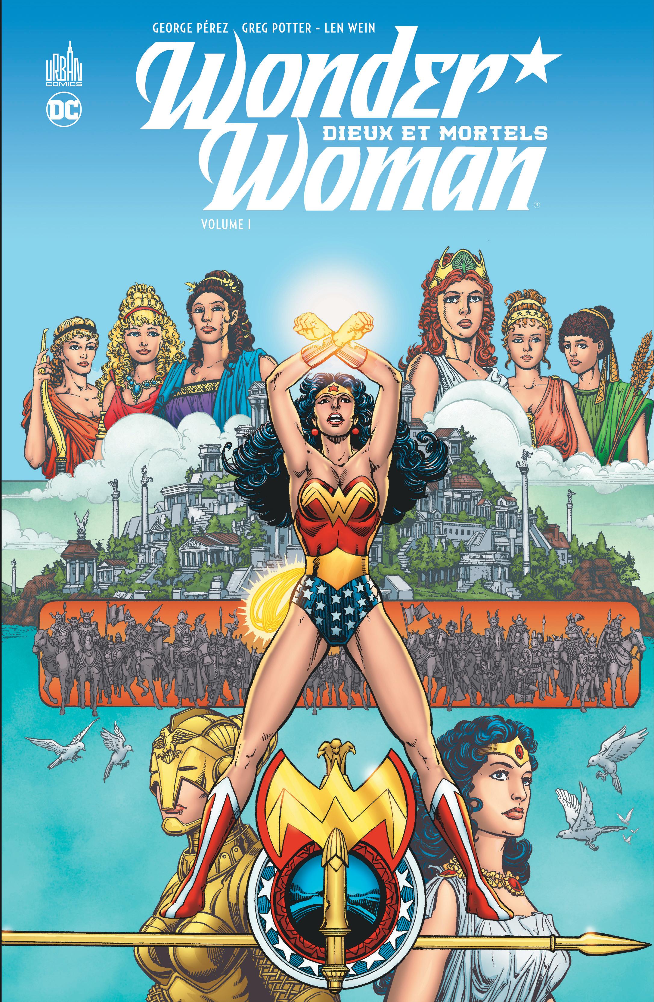 Wonder Woman - Dieux et Mortels 1 - Dieux et Mortels - Tome 1