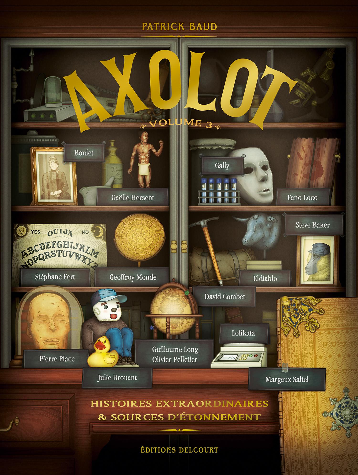 Axolot 3 - Tome 3