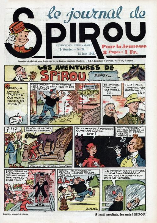 Le journal de Spirou 165