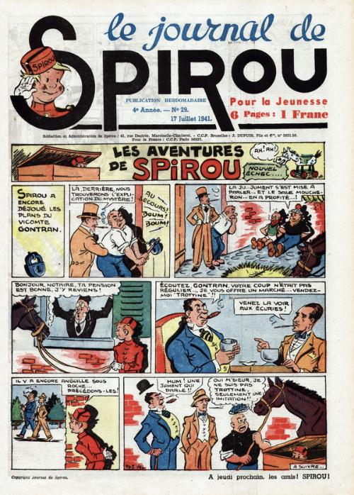 Le journal de Spirou 170