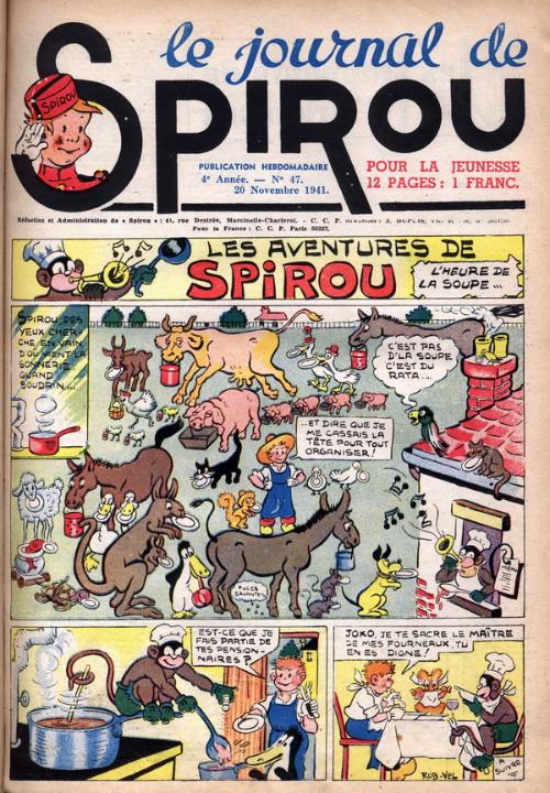 Le journal de Spirou 188