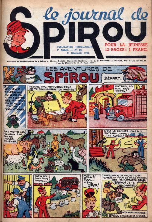 Le journal de Spirou 191