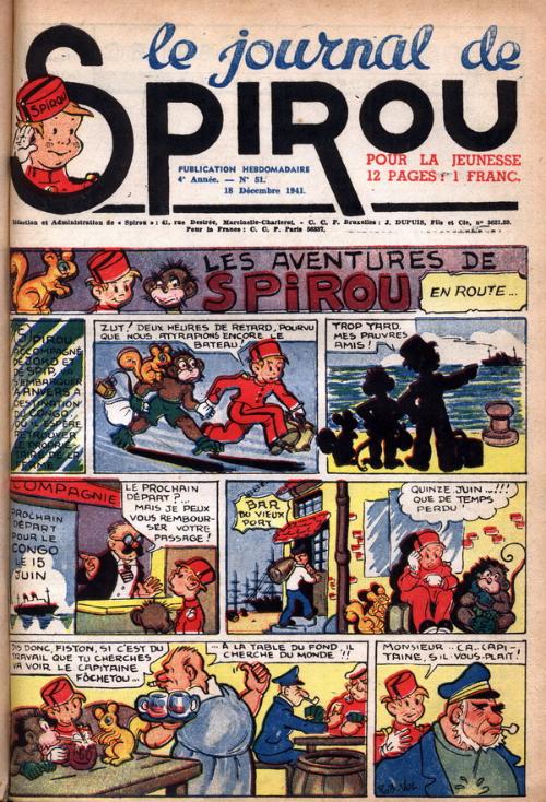 Le journal de Spirou 192