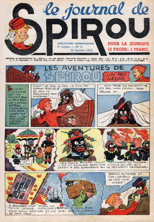 Le journal de Spirou 198