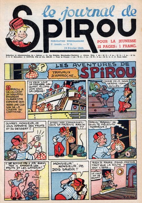 Le journal de Spirou 201