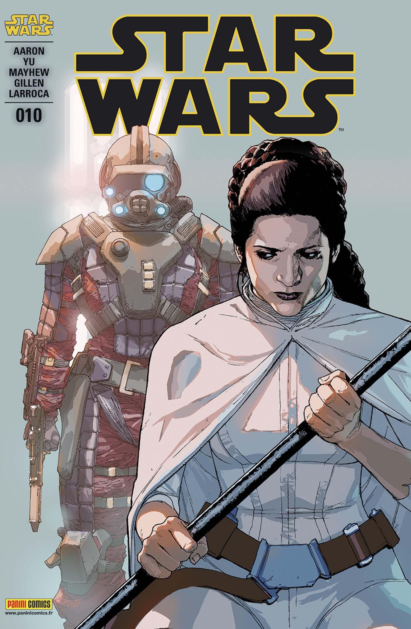 Star Wars 10 - couverture régulière : 1/2 (Leinil Francis Yu – tirage 50%)