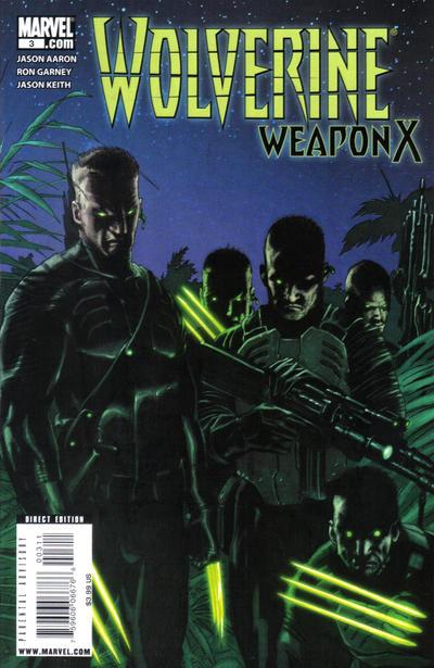 Wolverine - Weapon X 3 - The Adamantium Men, Part 3 of 5