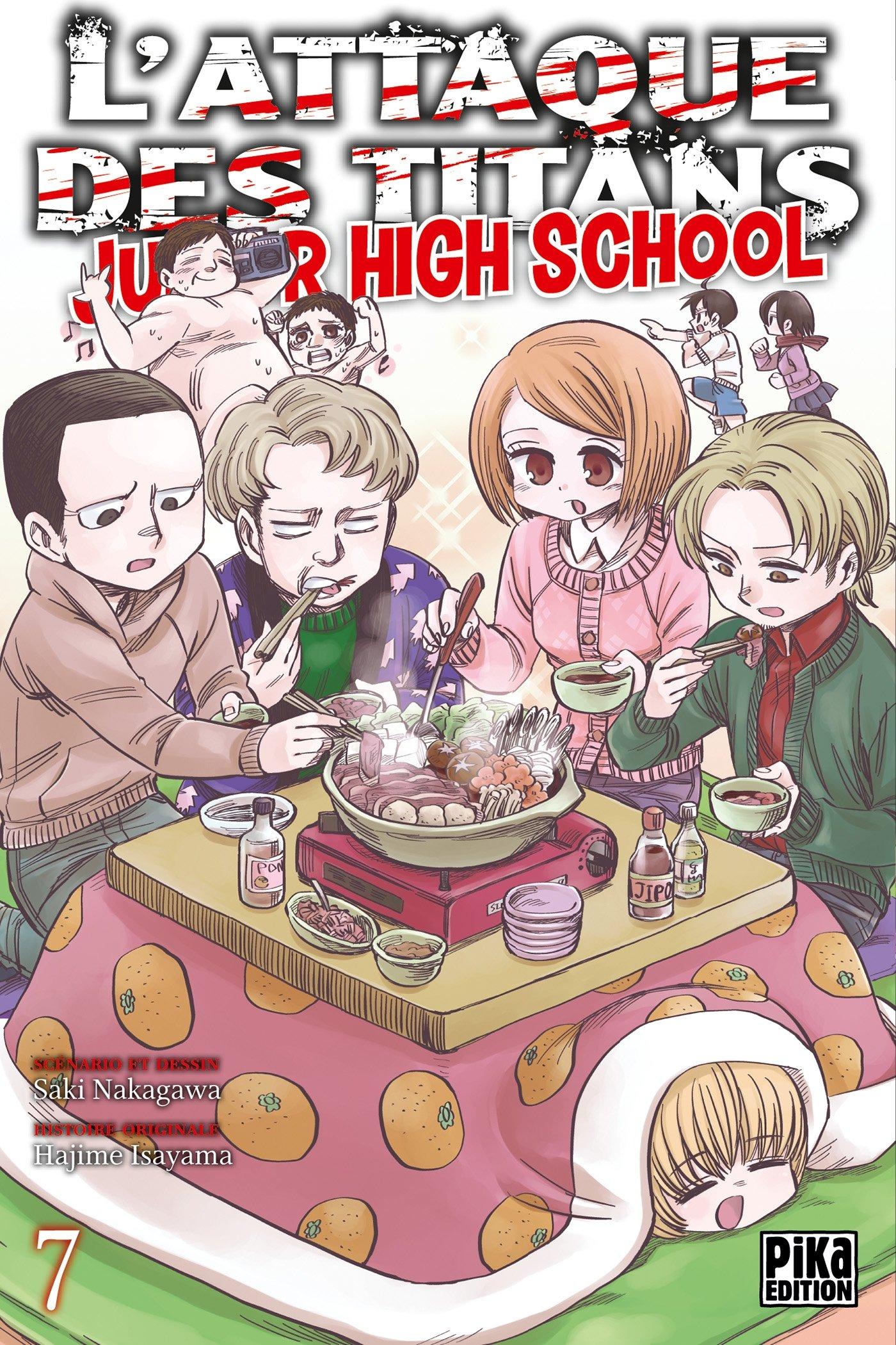L'attaque des titans - Junior high school 7