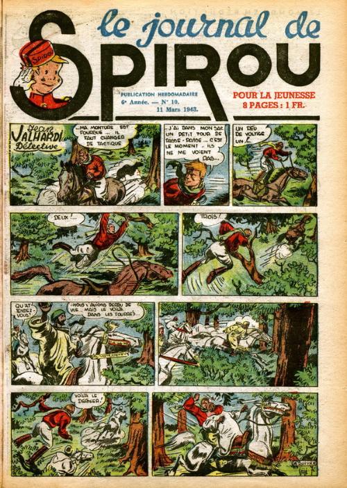Le journal de Spirou 256