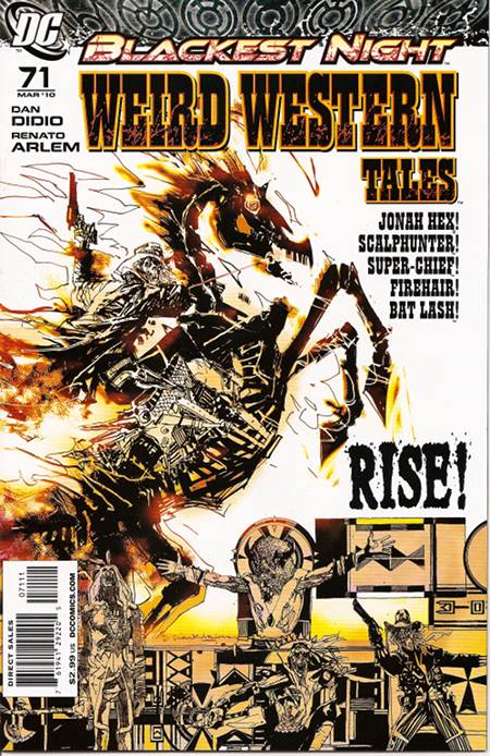 Weird Western Tales 71 - And The South Shall Rise Again