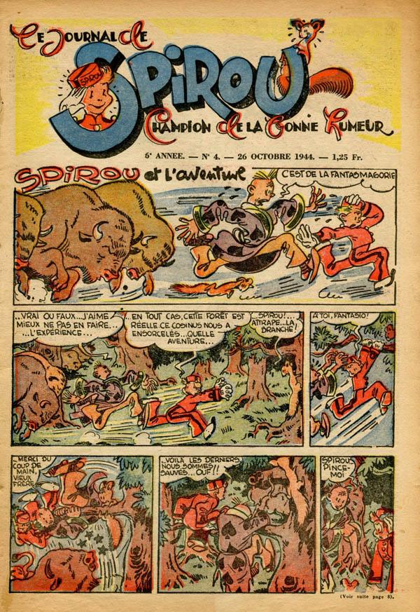 Le journal de Spirou 341