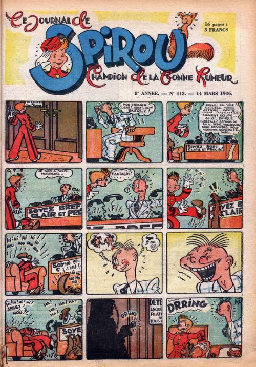 Le journal de Spirou 413