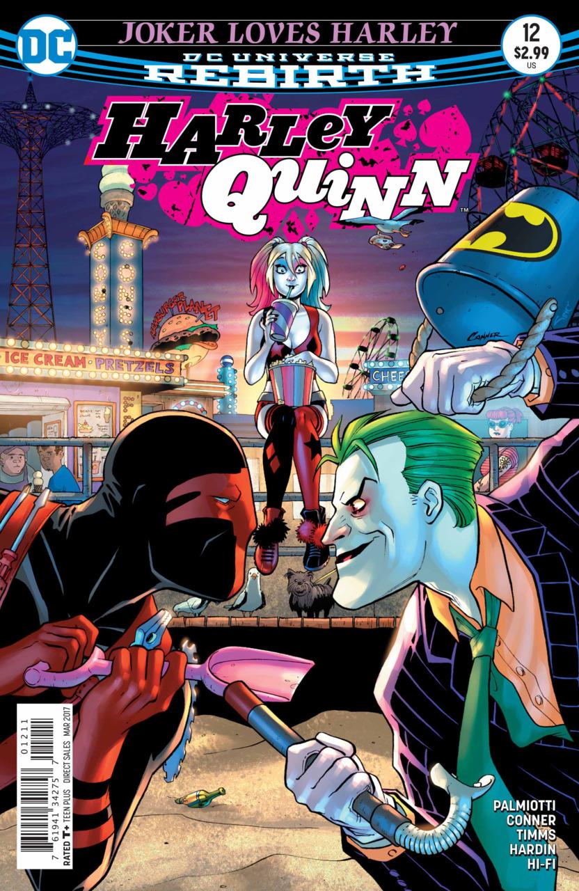 Harley Quinn 12 - Joker Loves Harley 2 : The Good... The Bad... The Hungry!