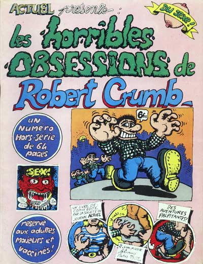 Les horribles OBSESSIONS de Robert Crumb 1 - Les horribles OBESSIONS de Robert Crumb