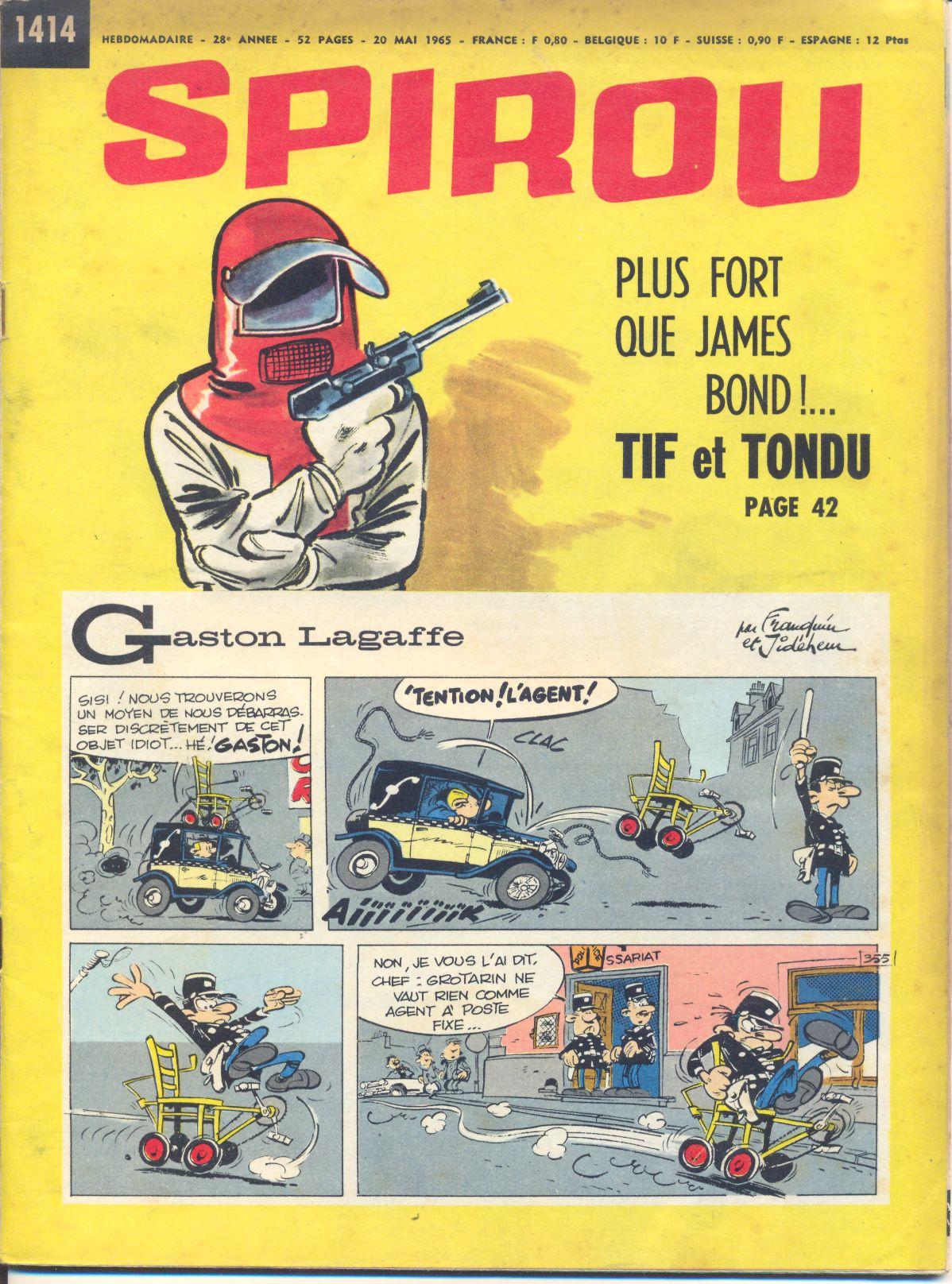 Le journal de Spirou 1414