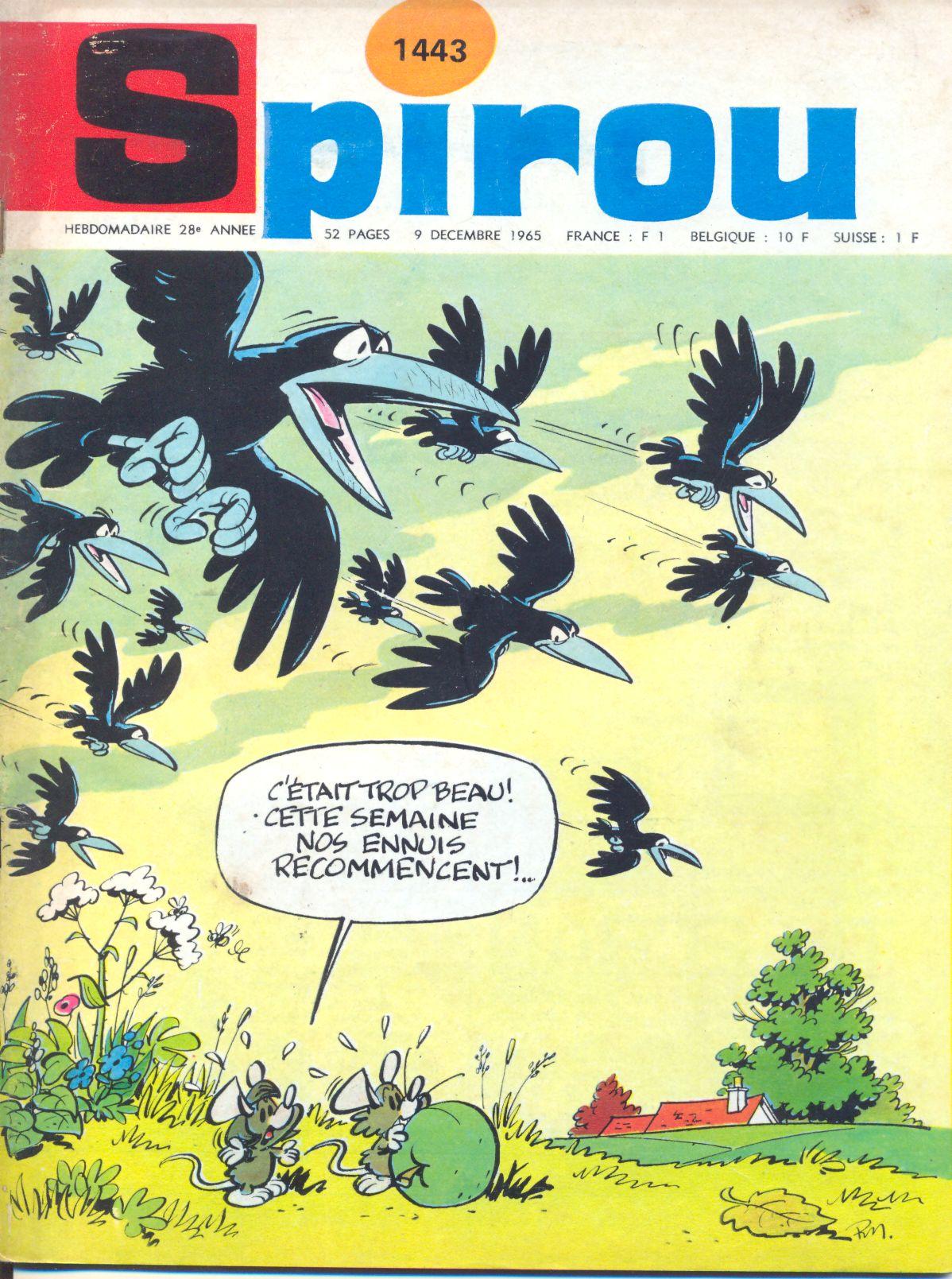 Le journal de Spirou 1443