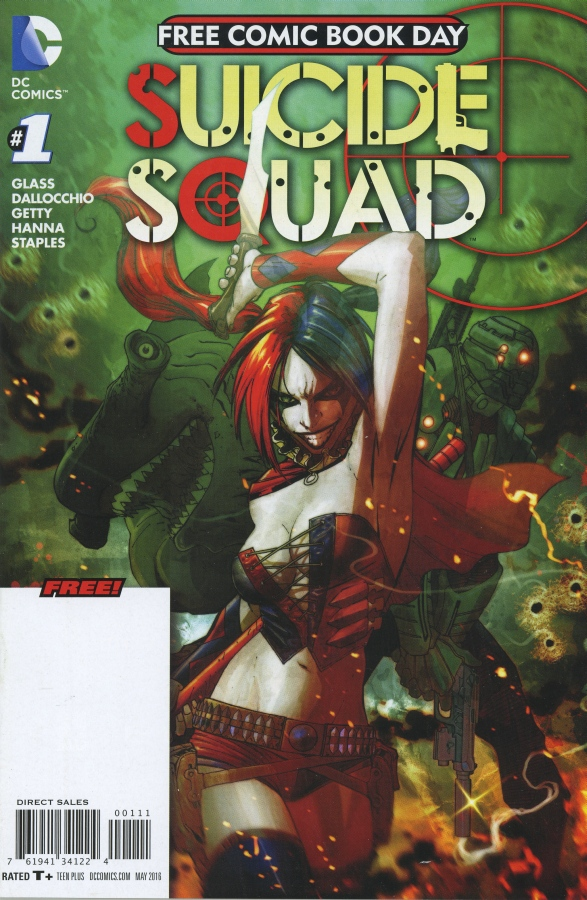Free Comic Book Day 2016 - Suicide Squad 1