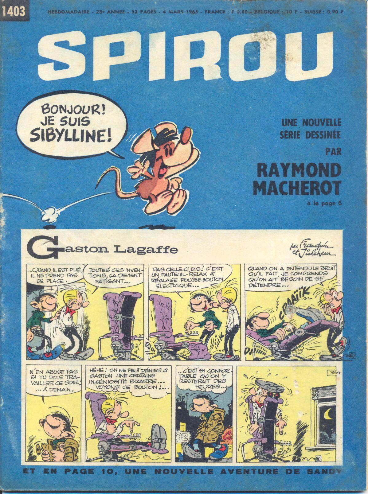 Le journal de Spirou 1403