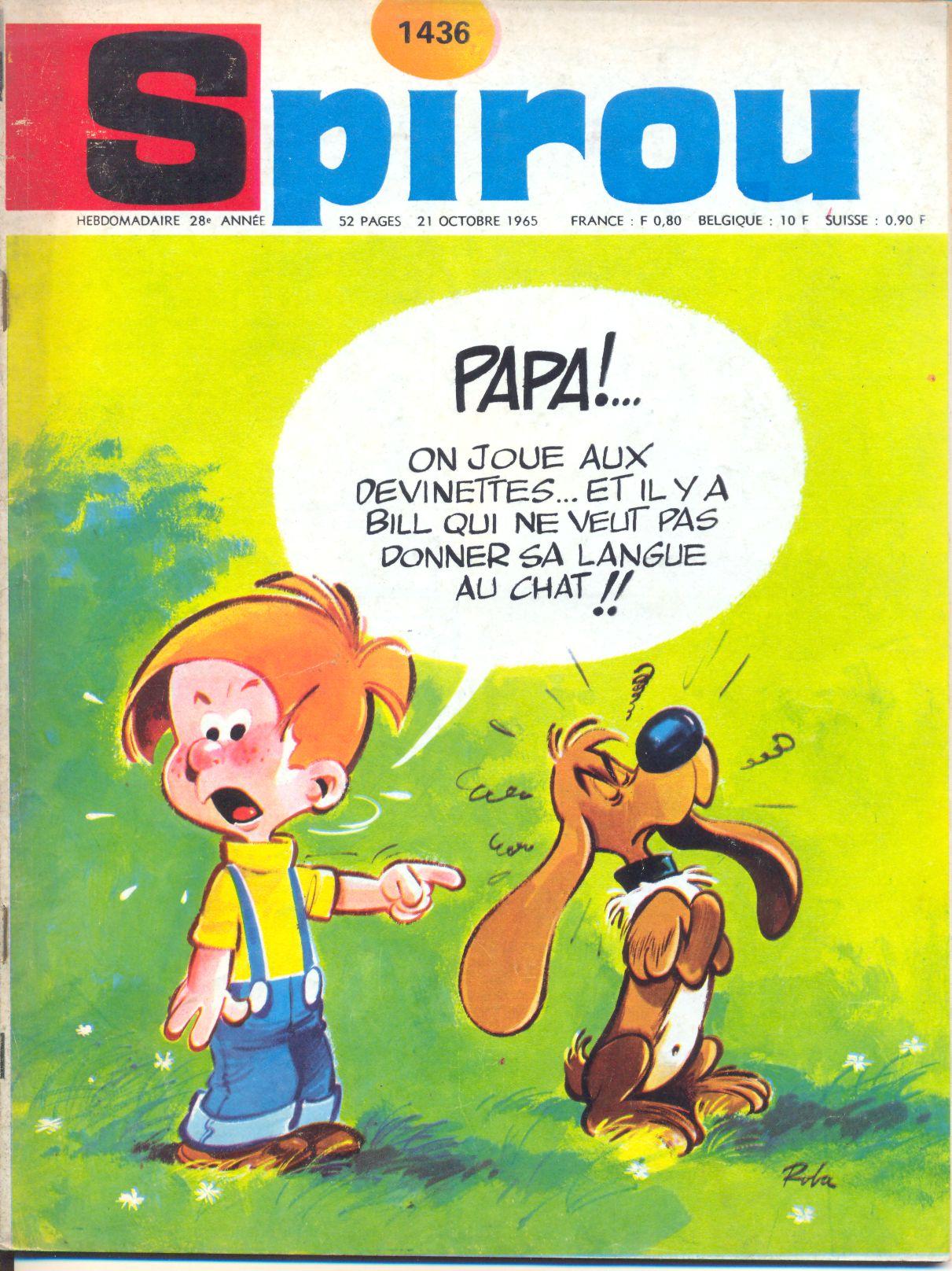 Le journal de Spirou 1436