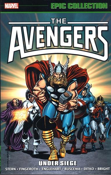 Avengers 16 - Under Siege