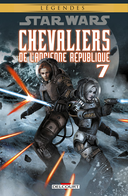 Star Wars - Chevaliers de l'Ancienne République 7 - La destructrice - Réédition Légendes