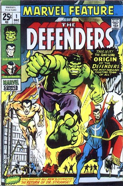 Marvel Feature 1 - The Day of the Defenders!
