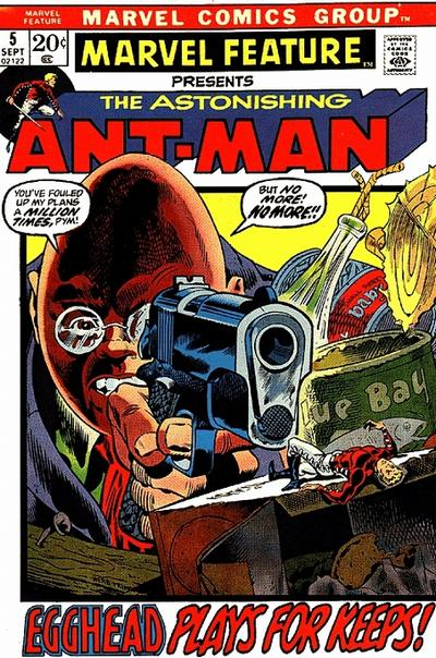 Marvel Feature 5 - Fear's the Way He Dies