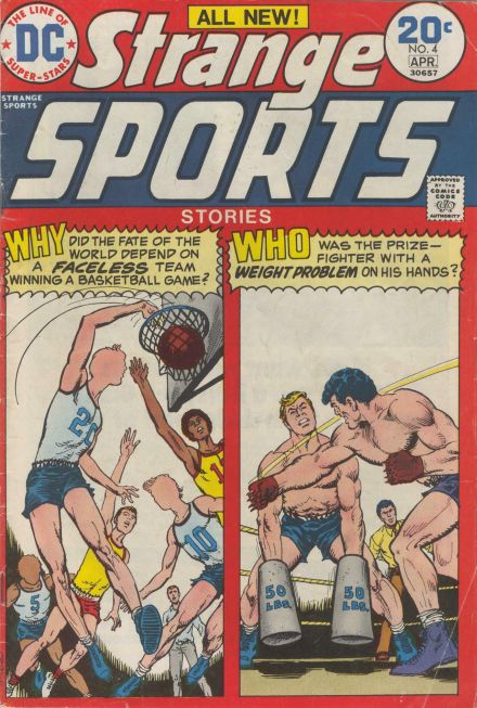 Strange Sports Stories 4