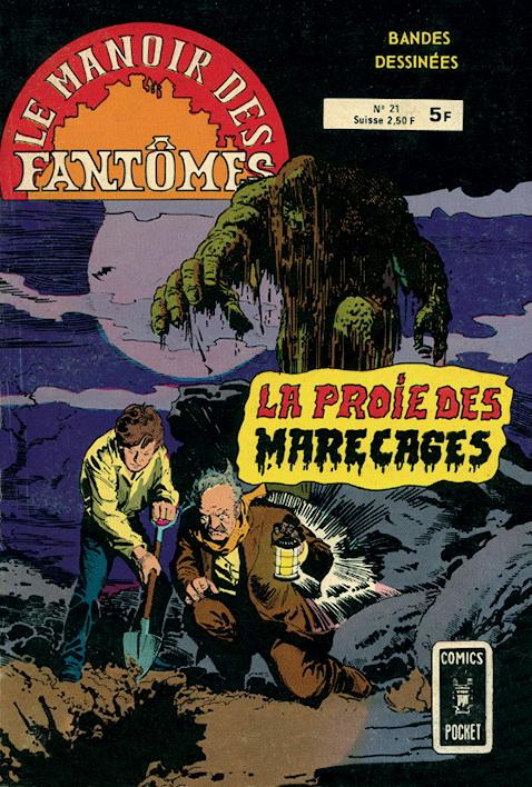 Le Manoir des Fantômes 21 - La Proie Des Marécages