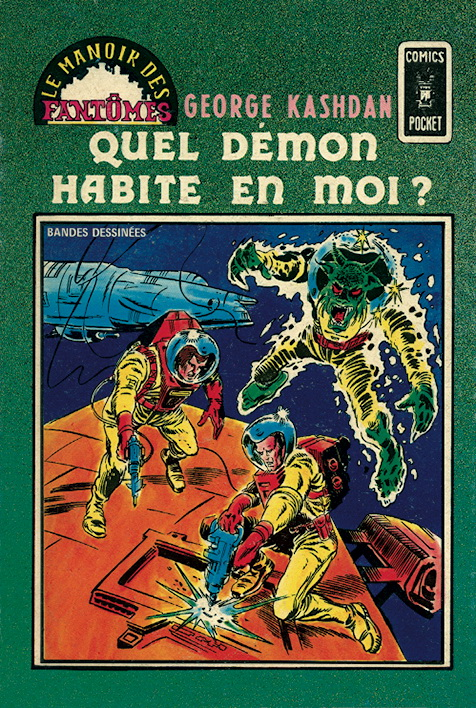 Le Manoir des Fantômes 23 - Quel démon habite en moi ?