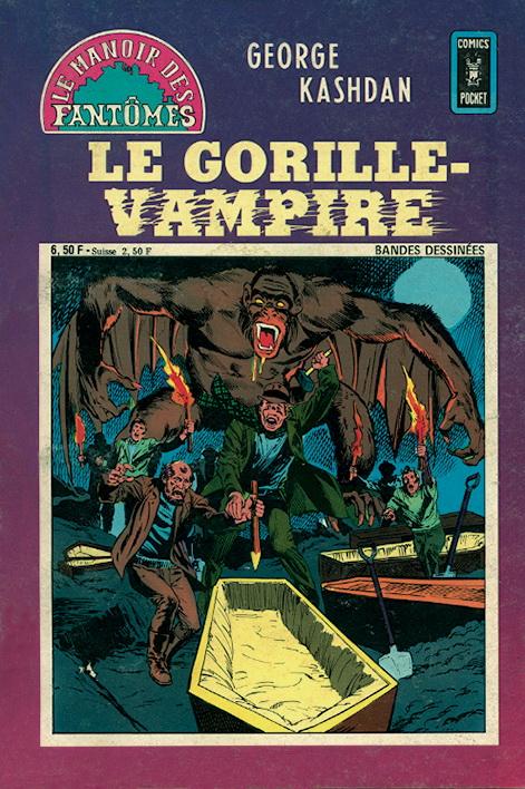 Le Manoir des Fantômes 25 - Le gorille-vampire
