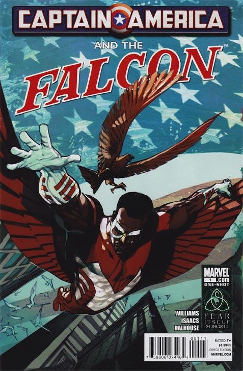 Captain America and the Falcon 1