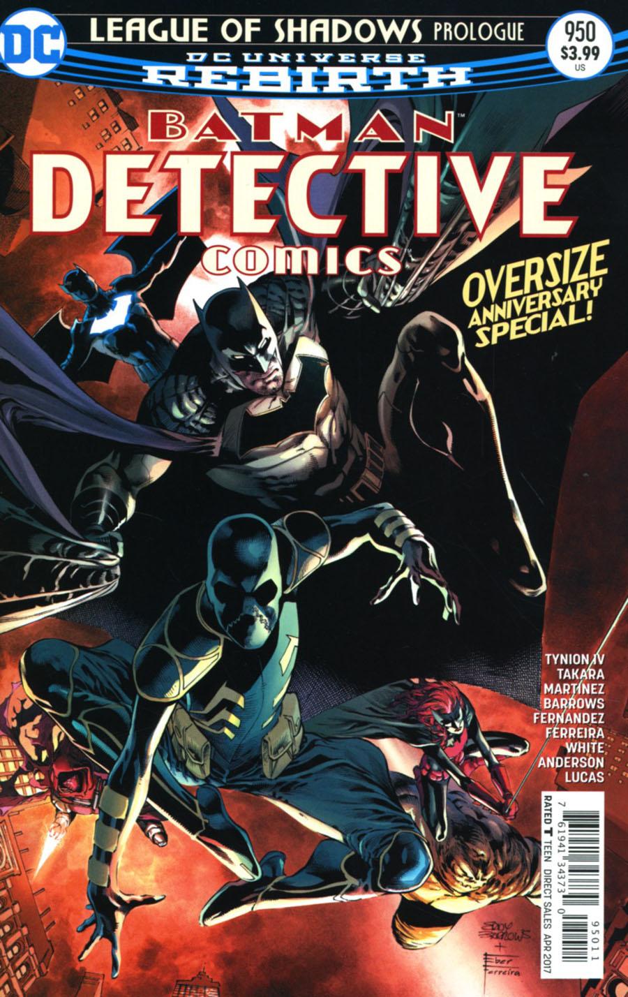 Batman - Detective Comics 950 - League of Shadows - prologue