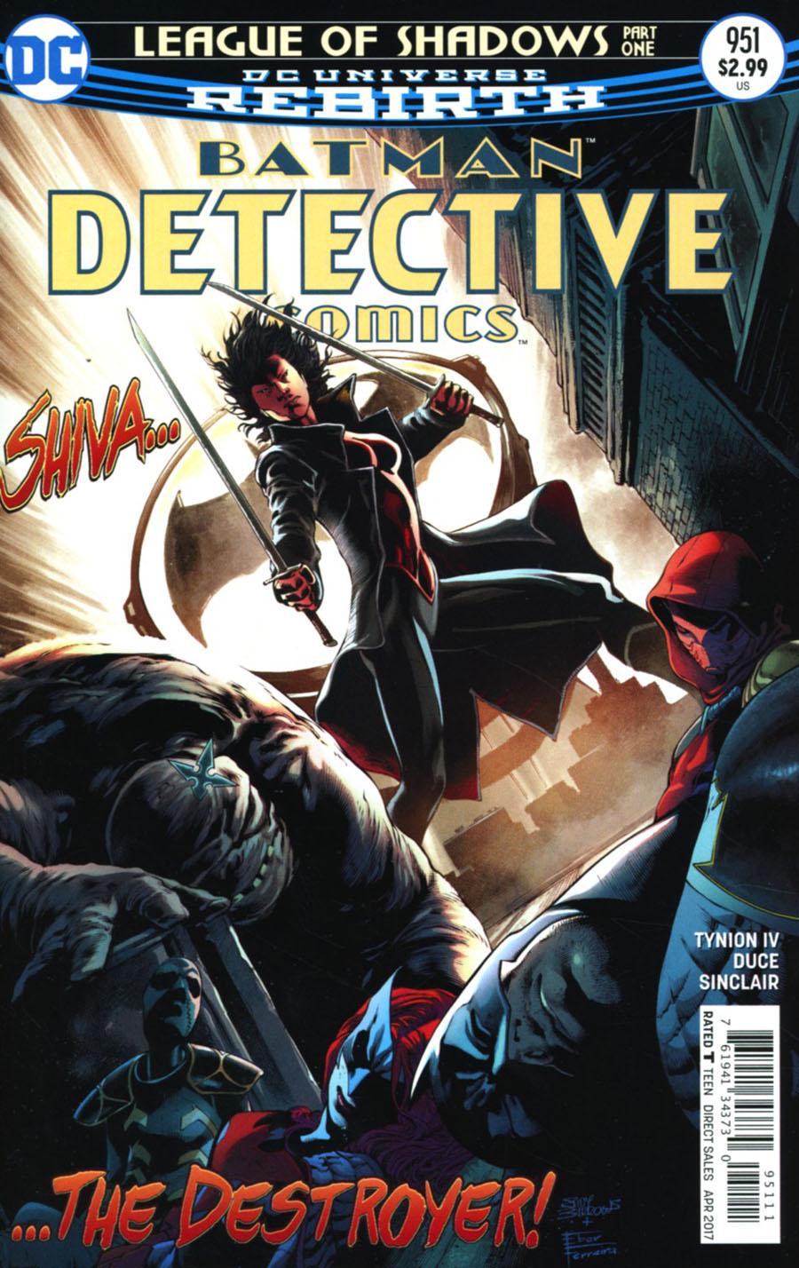 Batman - Detective Comics 951 - League of Shadows Part 1: Unleashed