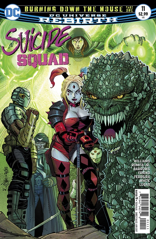 Suicide Squad 11 - Burning Down The House - part one