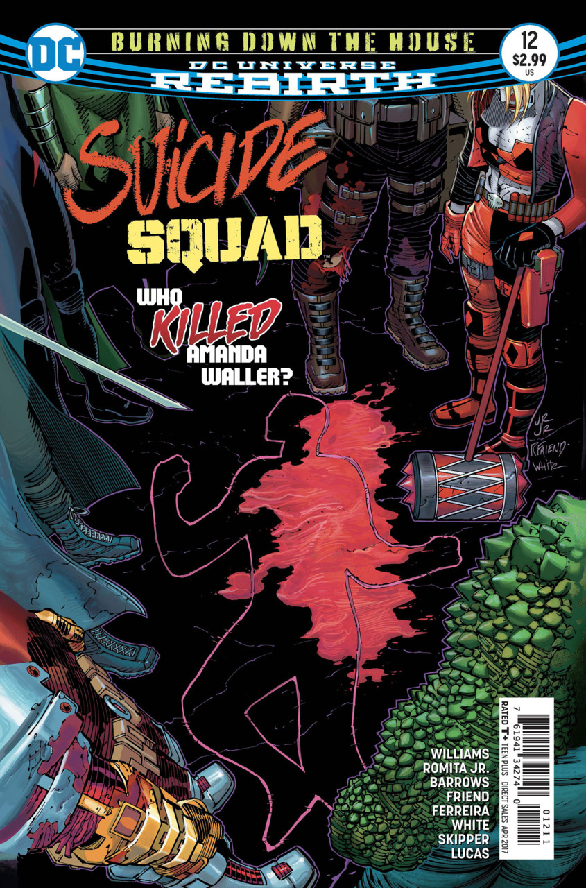 Suicide Squad 12 - Burning Down The House - part two