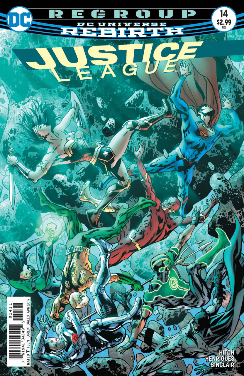 Justice League 14 - 14 - cover #1