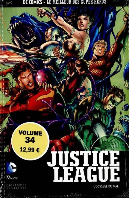 DC Comics - Le Meilleur des Super-Héros 34 - Justice League L'Odyssée du Mal